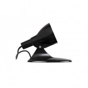 lampa biurkowa z czarnego bakelitu na owalnej podstawie_design_Antyki Sosenko_2-780x780