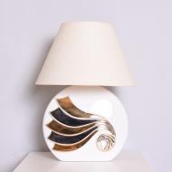 lampa ceramiczna lata 80 90 duża (1)