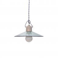 Lampa emaliowana talerzykowa