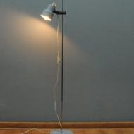 lampa podlogowa belid niebieska