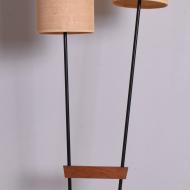 Lampa podłogowa tekowo metalowa x2 (3)