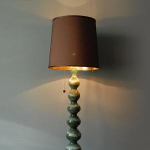 lampa zielona