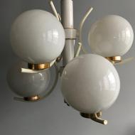 Lampa;żyrandol;SPUTNIK;lata 60. 70.;PRL;mid-century;NRD;4