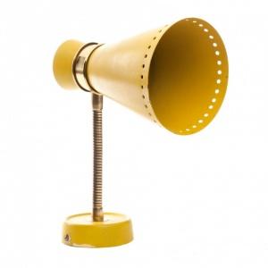 Lampka kinkiet_blacha w kolorze żółtym-antyki-sosenko-krakow_1-780x780