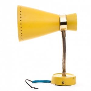 Lampka kinkiet_blacha w kolorze żółtym-antyki-sosenko-krakow_5-780x780