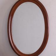 lustro przedwojenne owalne  (1)