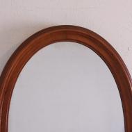 lustro przedwojenne owalne  (2)