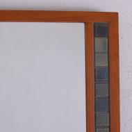 lustro z ceramicznymi płytkami po bokach (8)