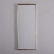 lustro złota czarna cienka ramka  (1)