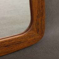 M. J. Spejle danish teak mirror-3