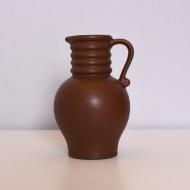 mały ceramiczny brązowy dzbanek niemcy west germany  (1)