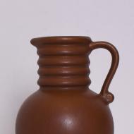 mały ceramiczny brązowy dzbanek niemcy west germany  (2)