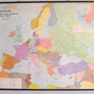 Mapa szkolna Europa, Polska, lata 70 (1)