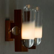 Mazzega , Murano glass wall scones-6