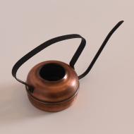 miedziana stalowa czarna konewka mała (6)