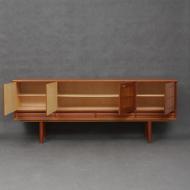 Norwegian mid century  teak low sideboard-3