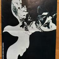 O pokój humanizm przeciwko groźbie wojny jądrowej Tadeusz Jodłowski 33x47,5 1978