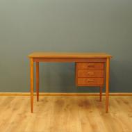 obustronne biurko tekowe we