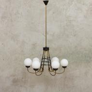 Original Stilnovo chandelier from the 60s-1
