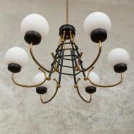 Original Stilnovo chandelier from the 60s-2