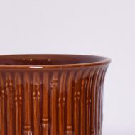 Osłonka na doniczkę, Sondgen Keramik, Niemcy, lata 70 (2)
