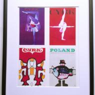 p 4 w 1 plakaty cyrkowe Wiktor Gó•rka