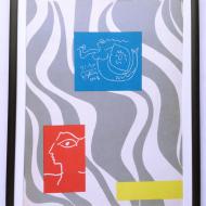p11958 warszawska syrenka narysowana przez P Picasso na jednym z domów proj okładki Lech Zahorski 2 str