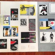 p21958 plakat prasowy okładki książek Czytelnik 56x37cm