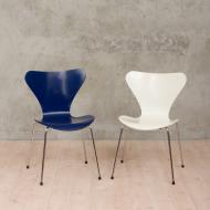 Pair of Fritz Hansen #7 chairs-1