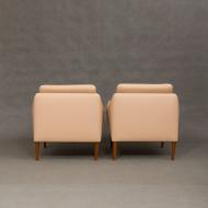 Pair of Hans Olsen lounge chairs for CS Mobler-4