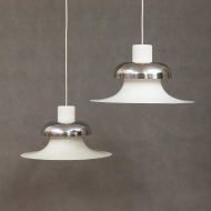 Pair of Mandalay pendant lamps designed by Andreas Hansen for Louis Poulsen-1