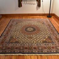 Persian Moud Carpet Hand-woven Wool rug Iran oriental dywan perski