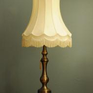 piekna okazala mosiezna lampa art deco