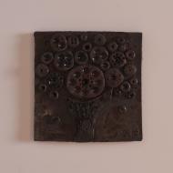 plakieta ceramiczna kwadratowa drzewo (1)