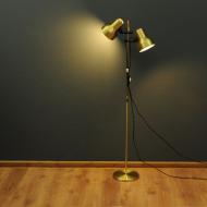 podwójna lampa podłogowa złota belid a