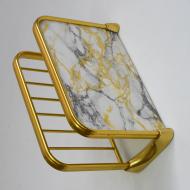 półka złota marmurowa (4)
