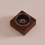 popielnica palisandrowa szklana (4)