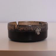 popielnica ruscha art keramik szara (1)