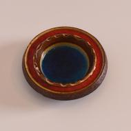 popielnica west germany niebieska zielona czerwona (1)