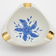 popielniczka cmielow niebieski kwiat_01