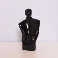 popiersie figurka rzeźba czarna art deco (1)