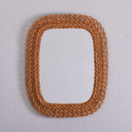 prostokątne lustro wyplatane  (1)