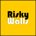 risky walls logo
