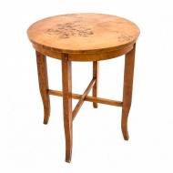 round-art-deco-coffee-table-poland-circa-1950