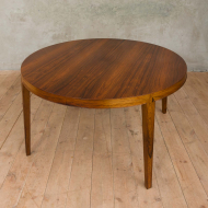 Severin Hansen rosewood extension table with 4 leaves 2013-16