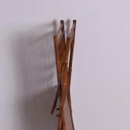 składany gazetnik ze stolikiem bambusowym (8)