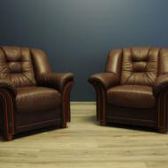 Skorzany fotel klubowy, Belgia