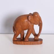 słoń duży tekowy  (4)