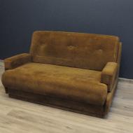 sofa kanpa dwuosobowa rozkladana sztruks Bauhaus d