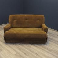 sofa kanpa dwuosobowa rozkladana sztruks Bauhaus vv0